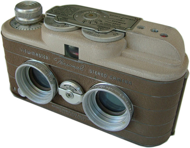 Sawyers Personal Stereo Camera - Uncommon Tan Version