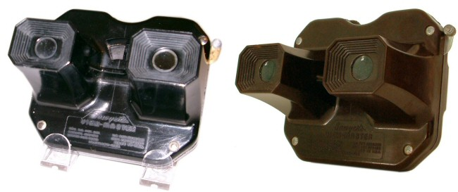 Sawyers View-Master Model C  (early outlined versions)